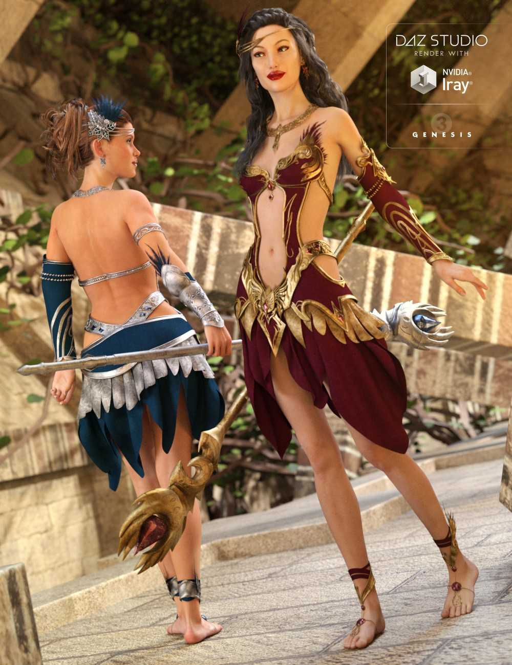 Circe Outfit Textures