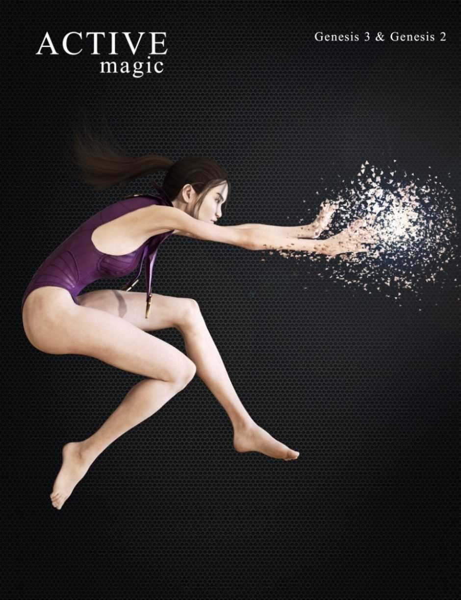 ACTIVE – Magic Poses for Genesis 2 and 3 Female