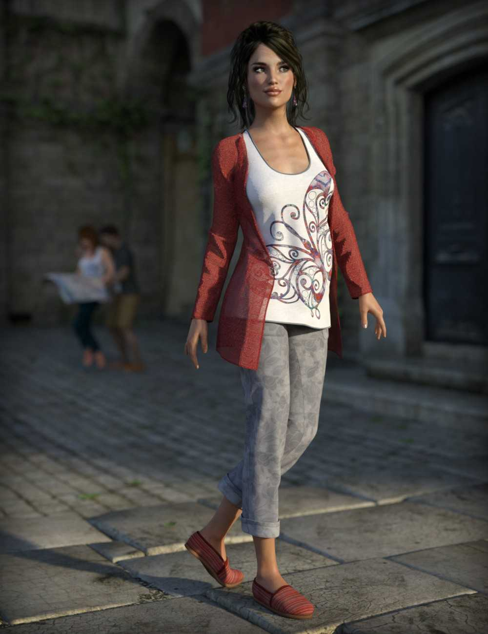 Casual Tourist for Genesis 3 Female(s)