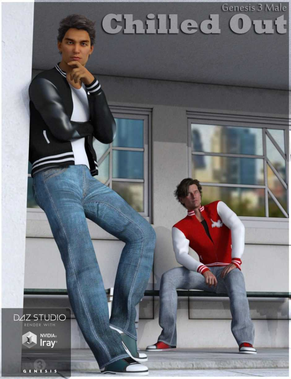 Chilled Out Outfit for Genesis 3 Male(s)