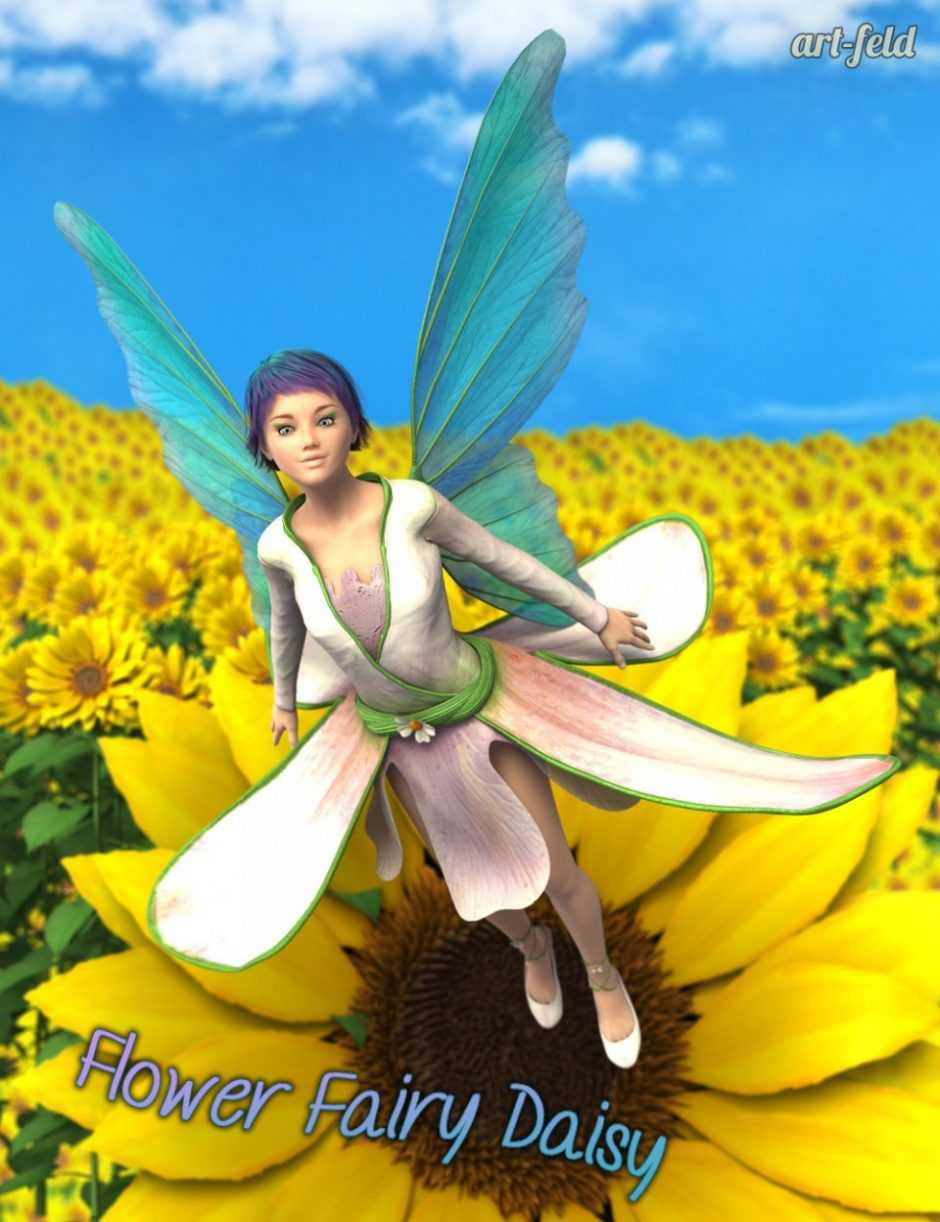 Flower Fairy Daisy for Genesis 3 Female(s)