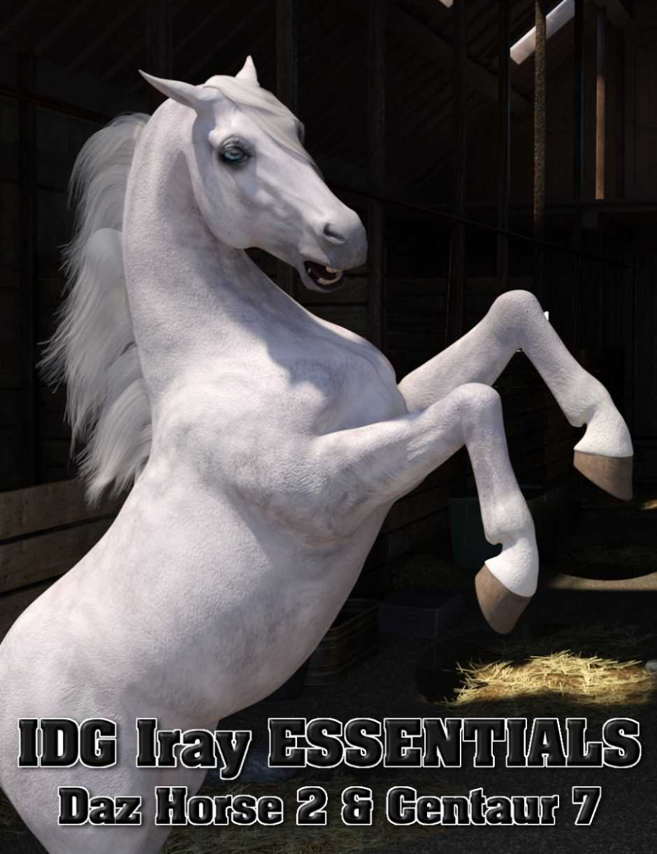 IDG Iray Essentials – Daz Horse 2 and Centaur 7