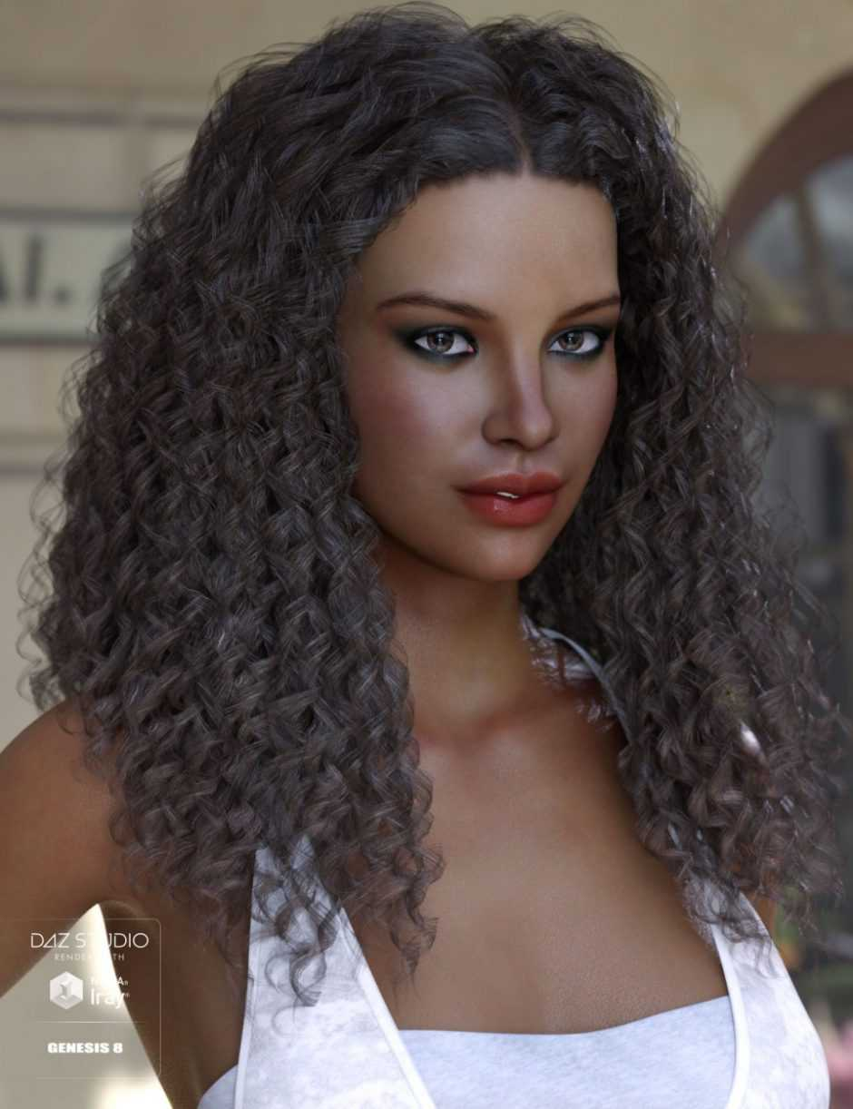 Karissa Hair for Genesis 3 & 8 Female(s)