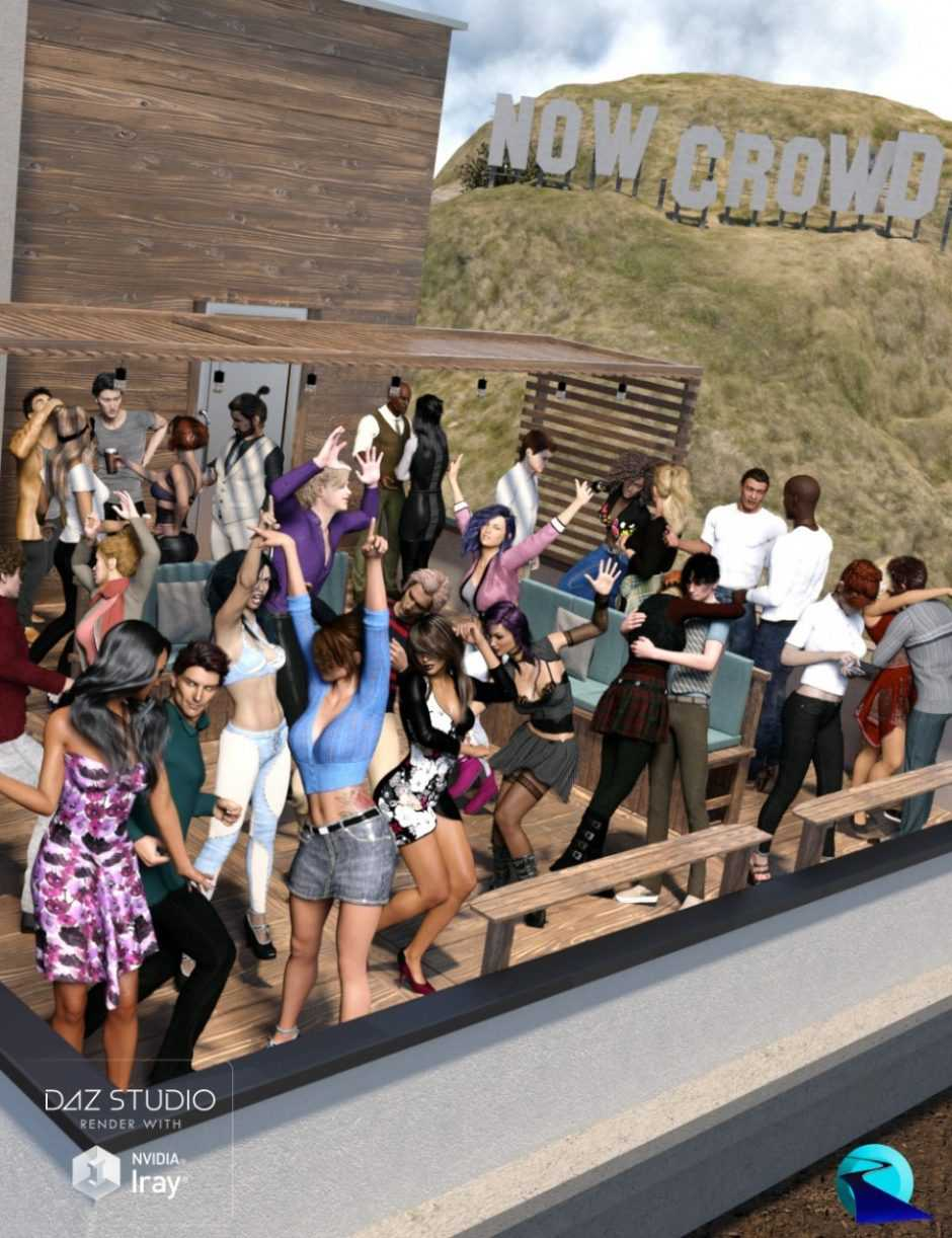 Now-Crowd Billboards – Party Time