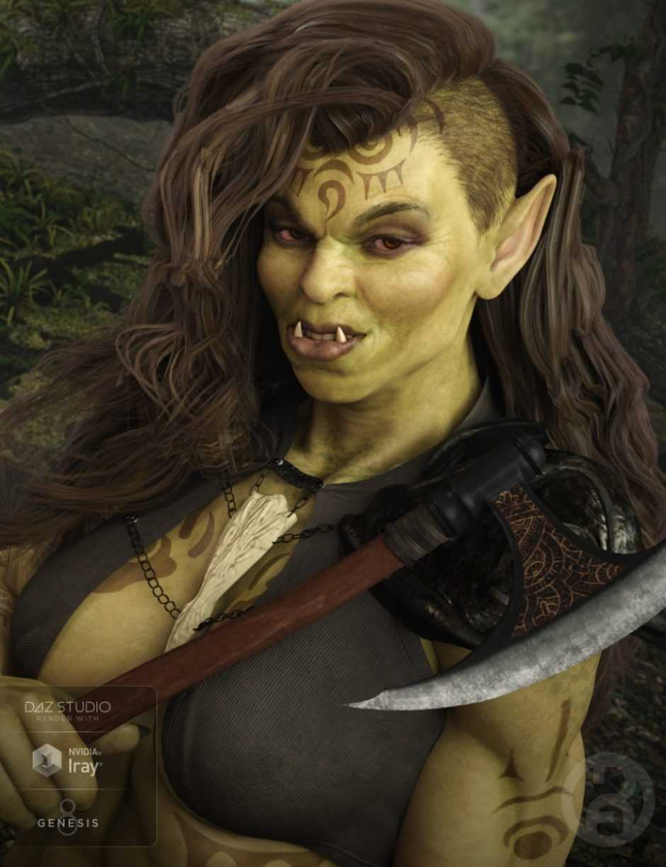 She Orc for Genesis 8 Female