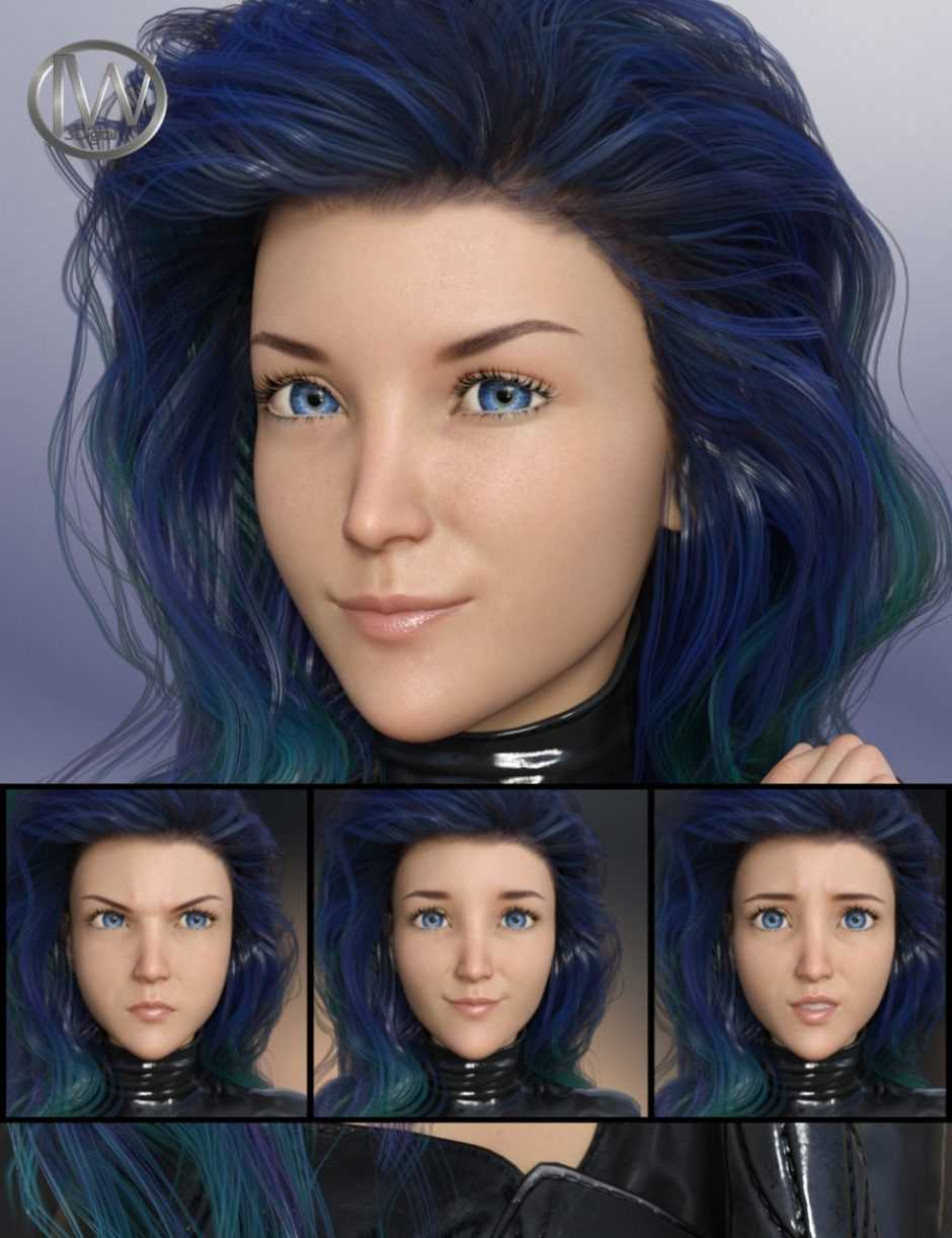 Sweet but Dangerous – Expressions for Genesis 8 Female(s) and Aiko 8