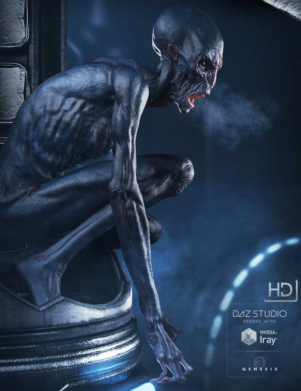 The Exile Alien HD for Genesis 3 Male