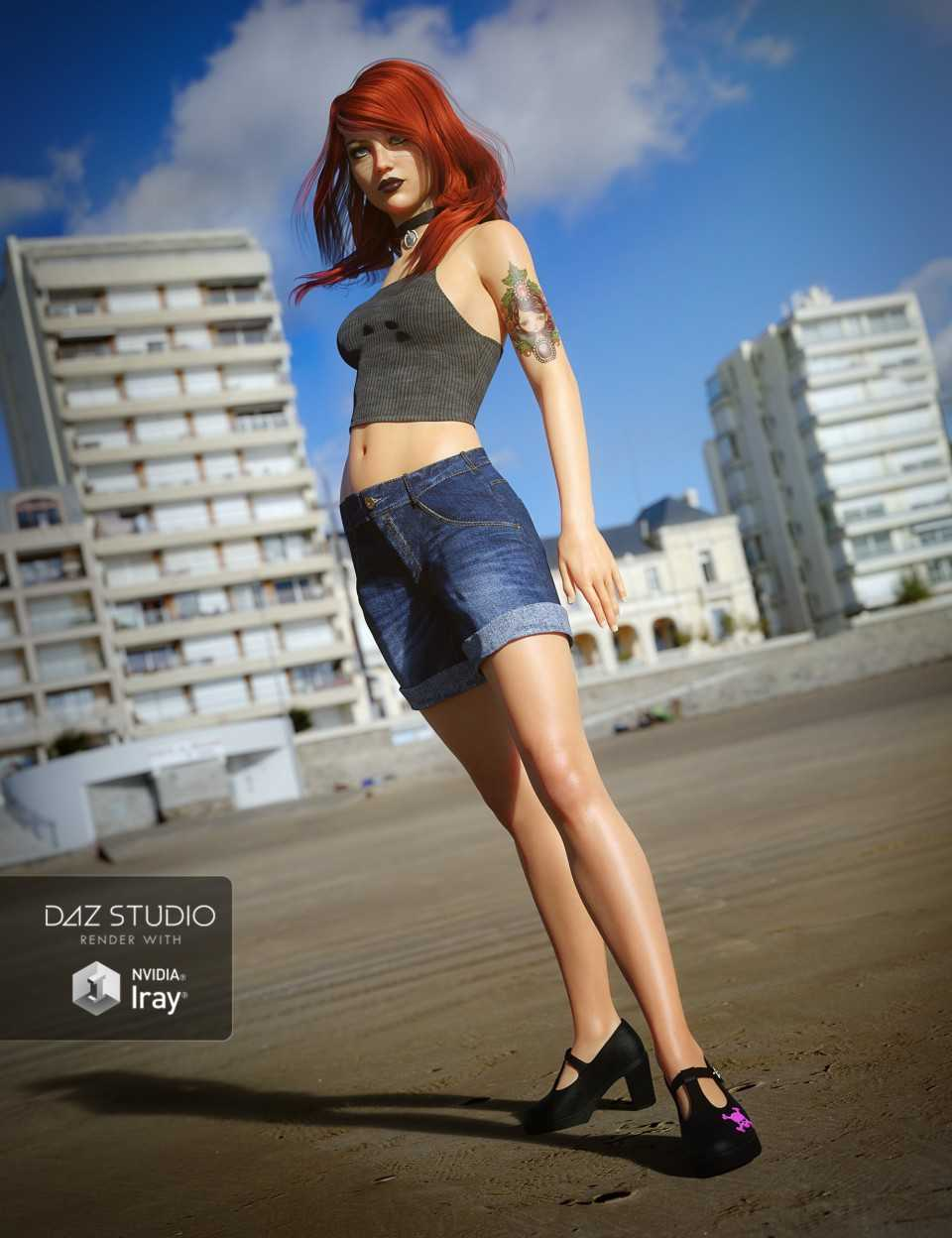 UltraHD IRAY HDRI With DOF – Seaside Resort