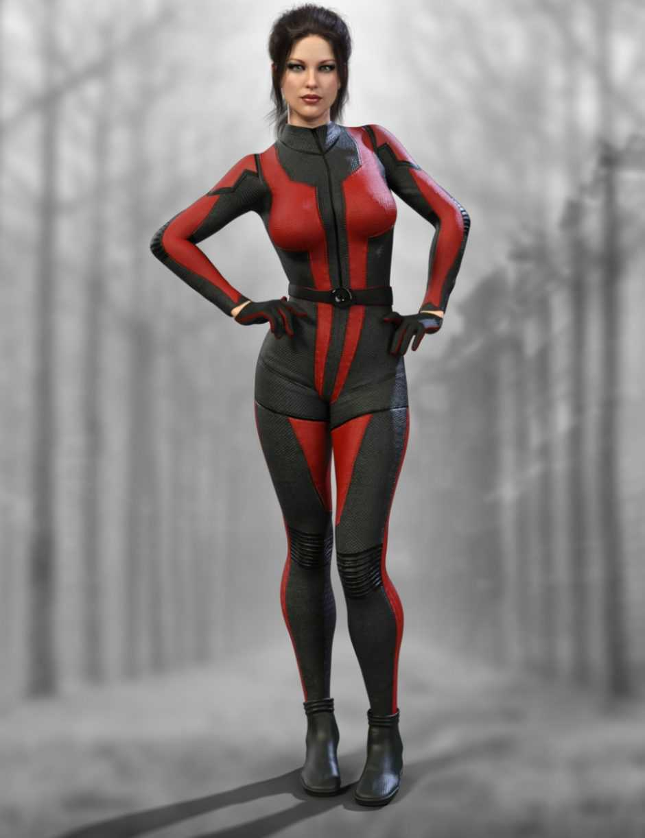 X-Fashion WaspGirl Outfit for Genesis 8 Female(s)