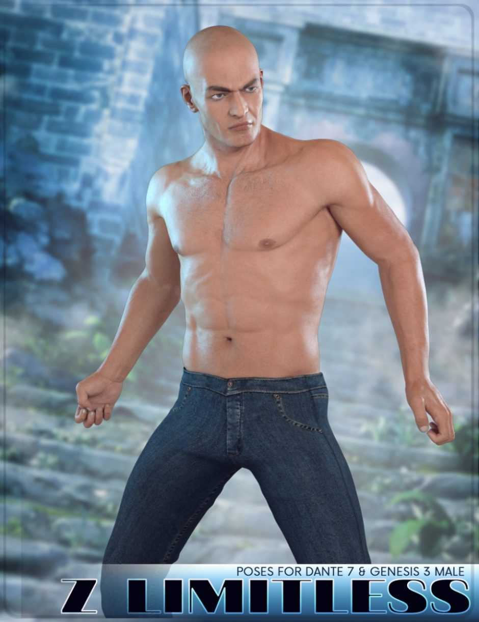 Z Limitless - Poses for Dante 7 and Genesis 3 Male