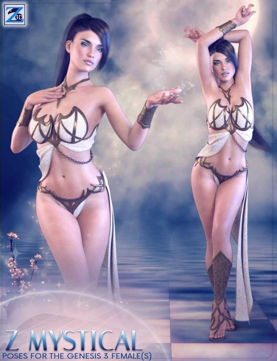 Z Mystical - Poses for Genesis 3 Female(s)