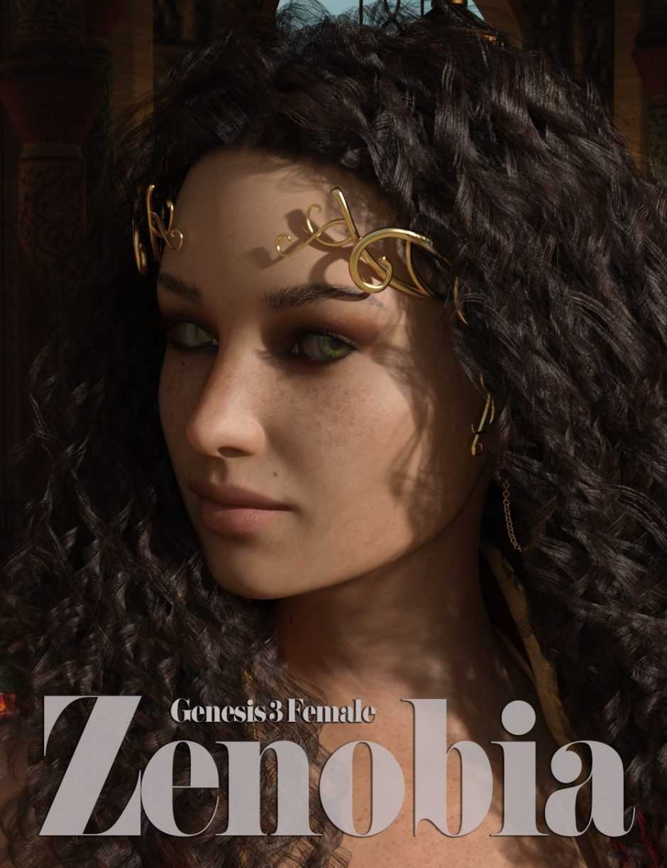 Zenobia Character for Genesis 3 Female