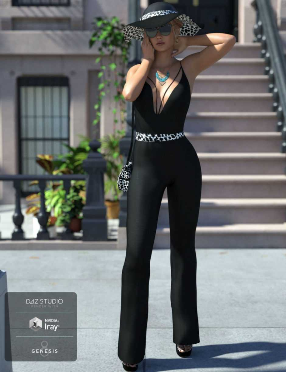 Sophisticated Jeni Outfit for Genesis 8 Female(s)