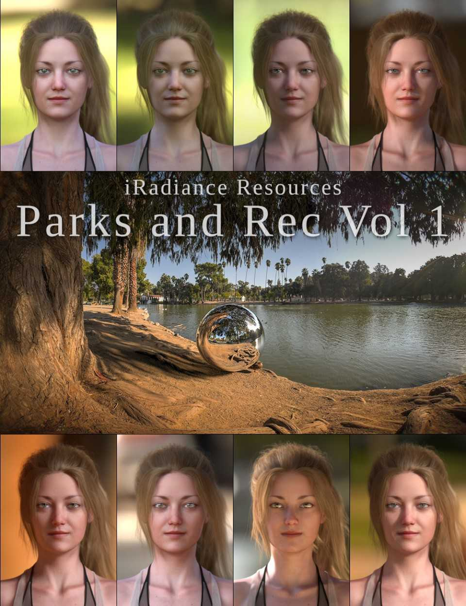 iRadiance HDR Resources – Parks and Rec Vol 1