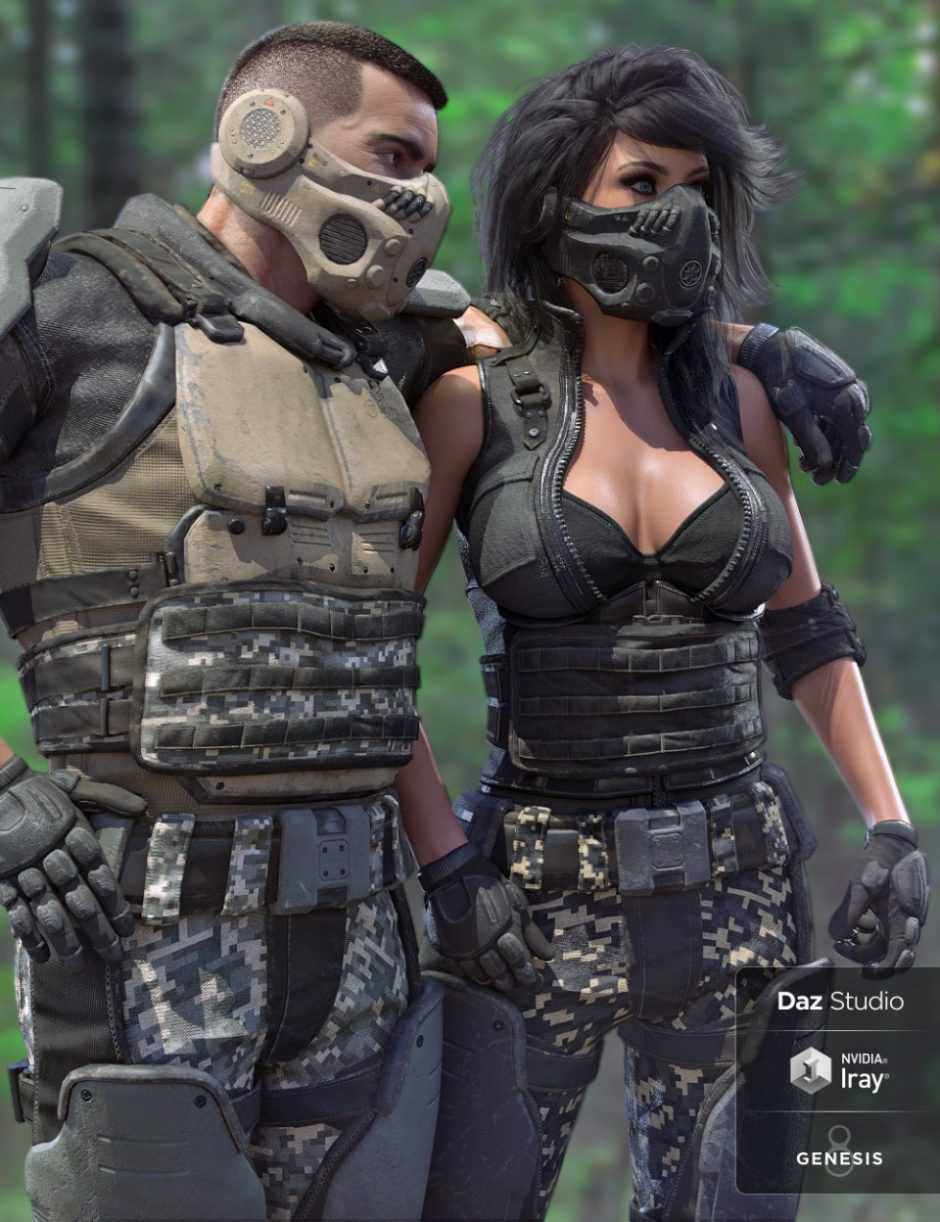 Tactical Assault Outfit Texture Expansion Pack