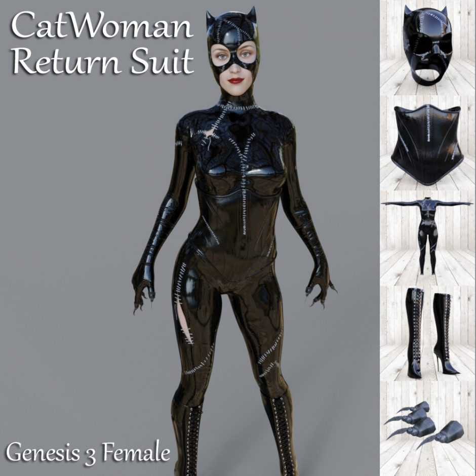 Catwoman Return Suit For G3F