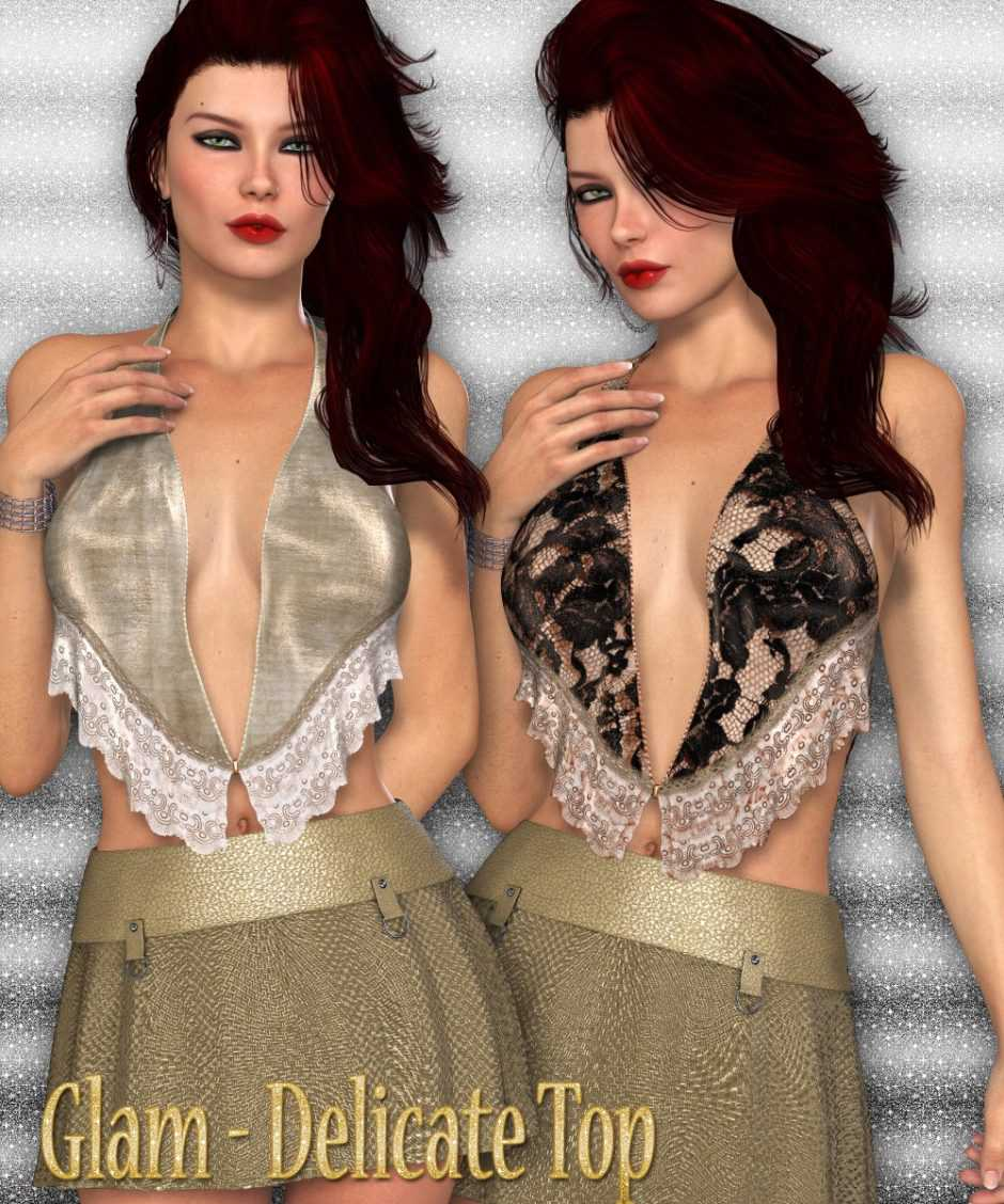 Glam – Delicate Top