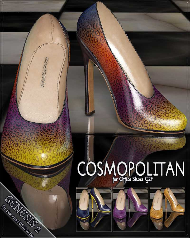 COSMOPOLITAN – Office Shoes G2F