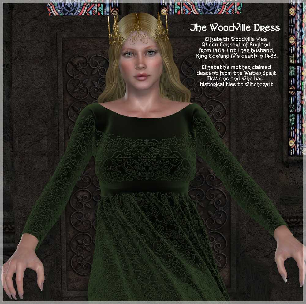 Dynamics 05 - Woodville Dress for Victoria 4