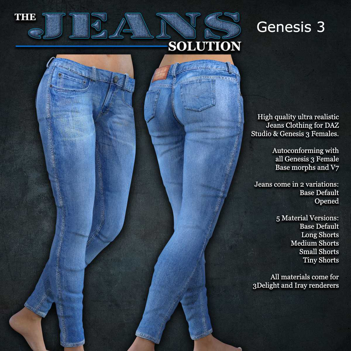 Exnem Jeans Solution for G3