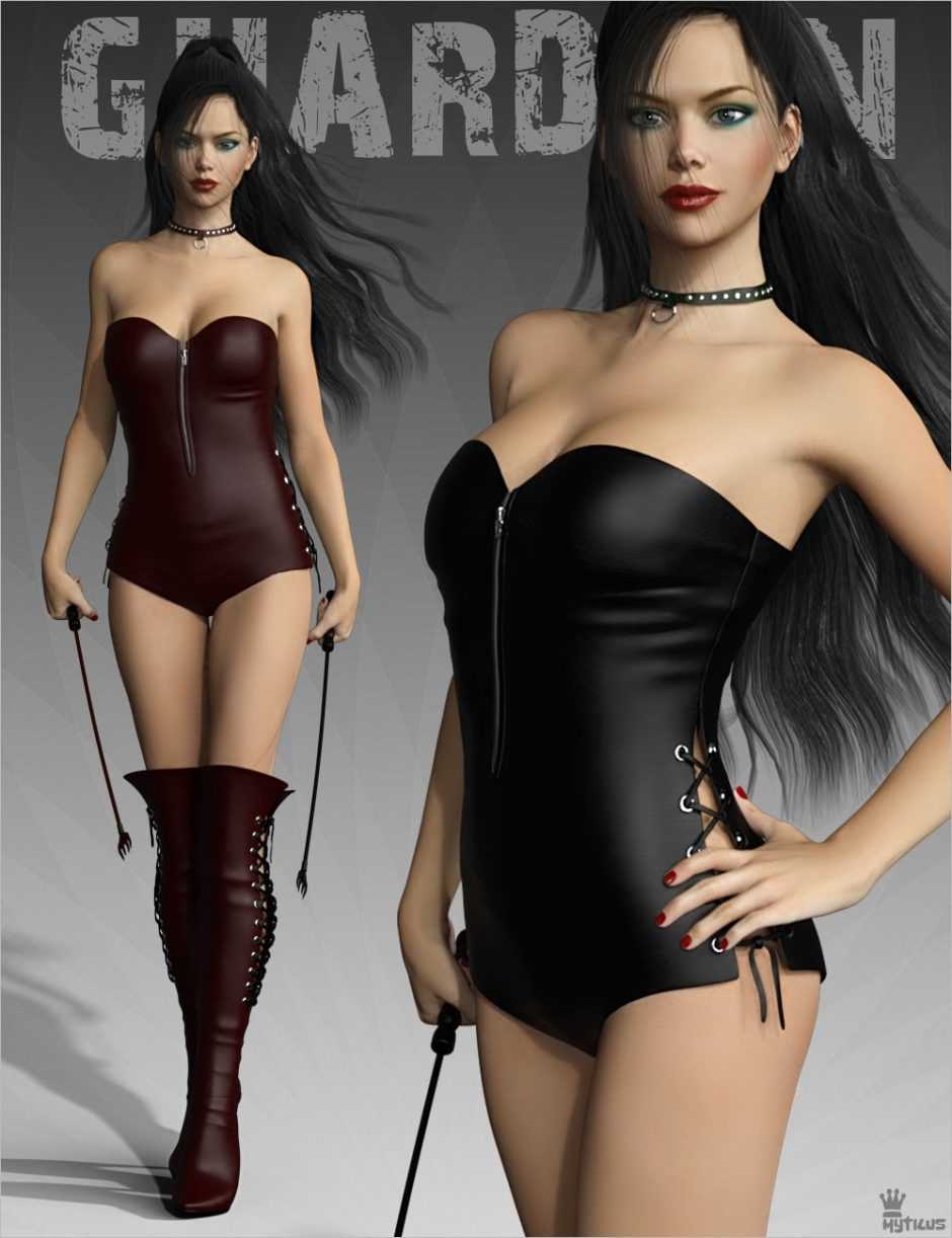 Jail Guardian for Genesis 3 Females
