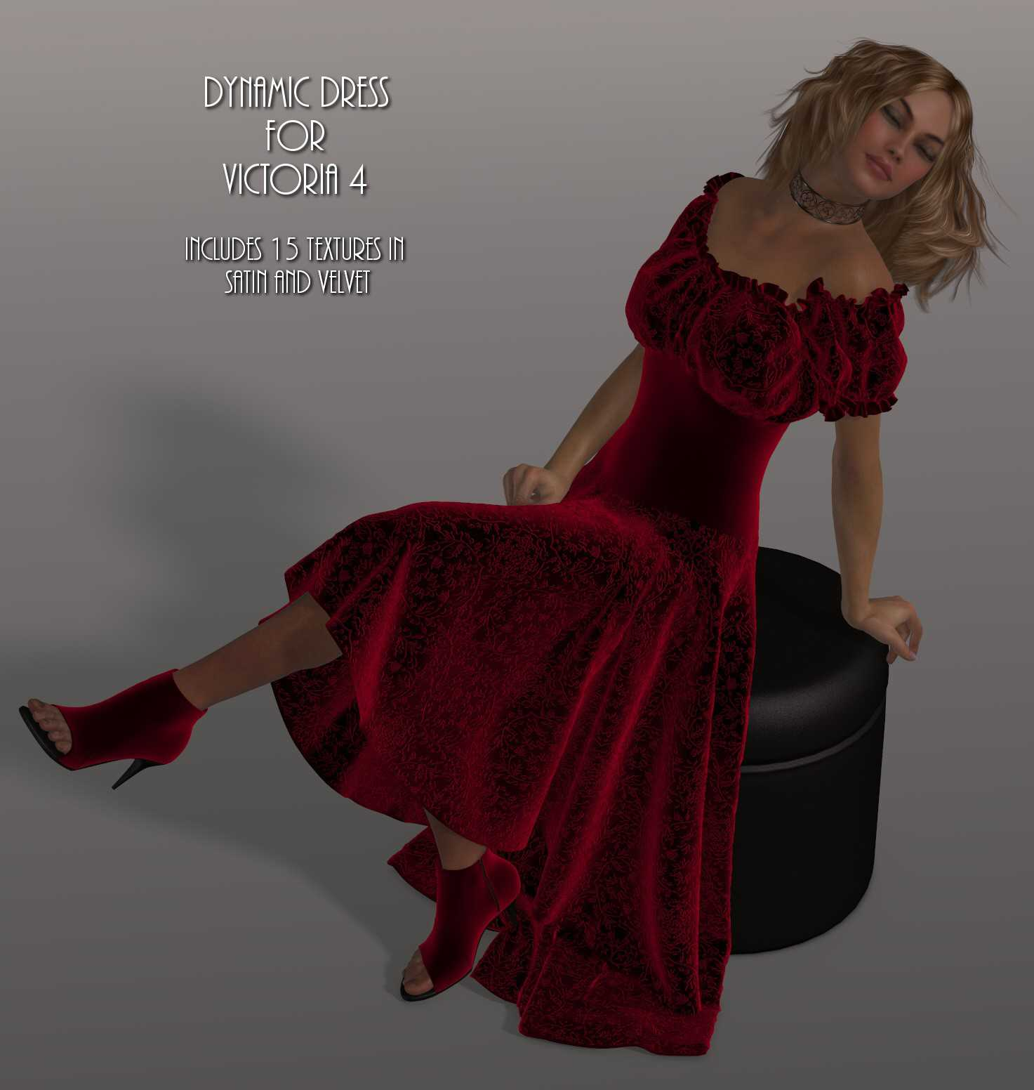 Dynamics 12 - Wench Dress for Victoria 4