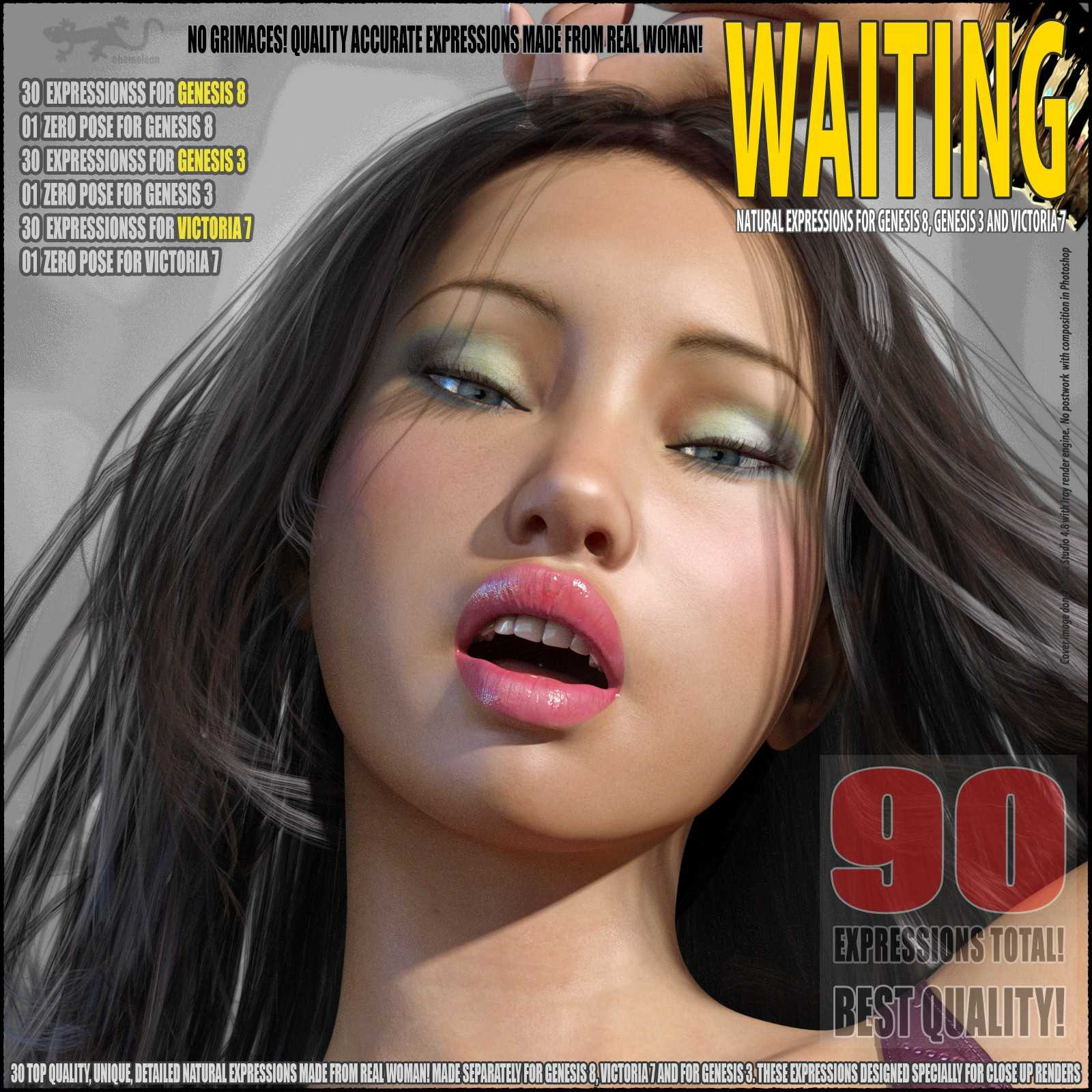 Waiting – expressions for G8, G3 and V7