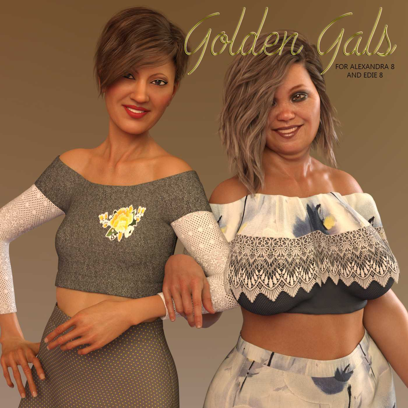 Golden Gals for G8F