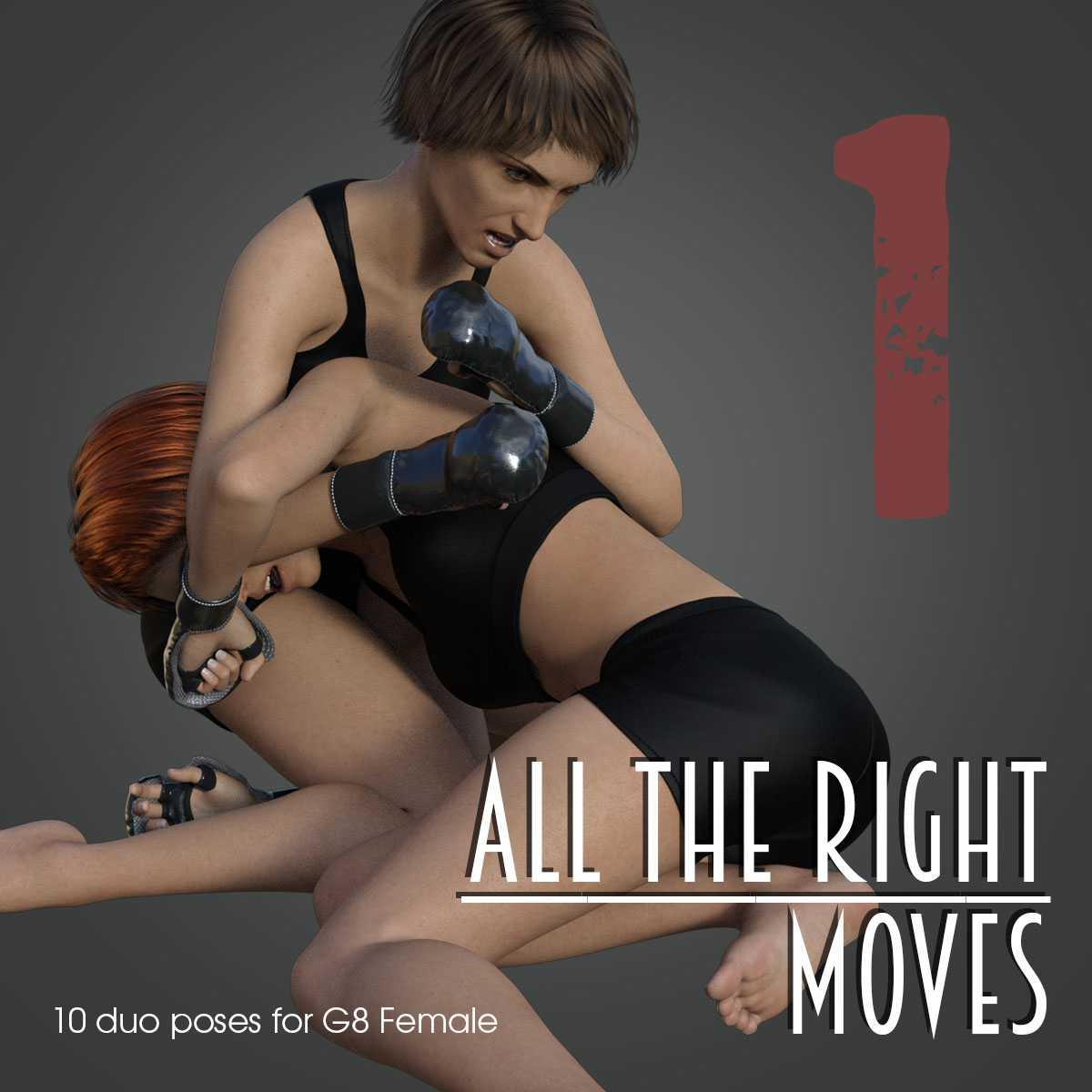 ALL THE RIGHT MOVES vol.1 for Genesis 8 Female