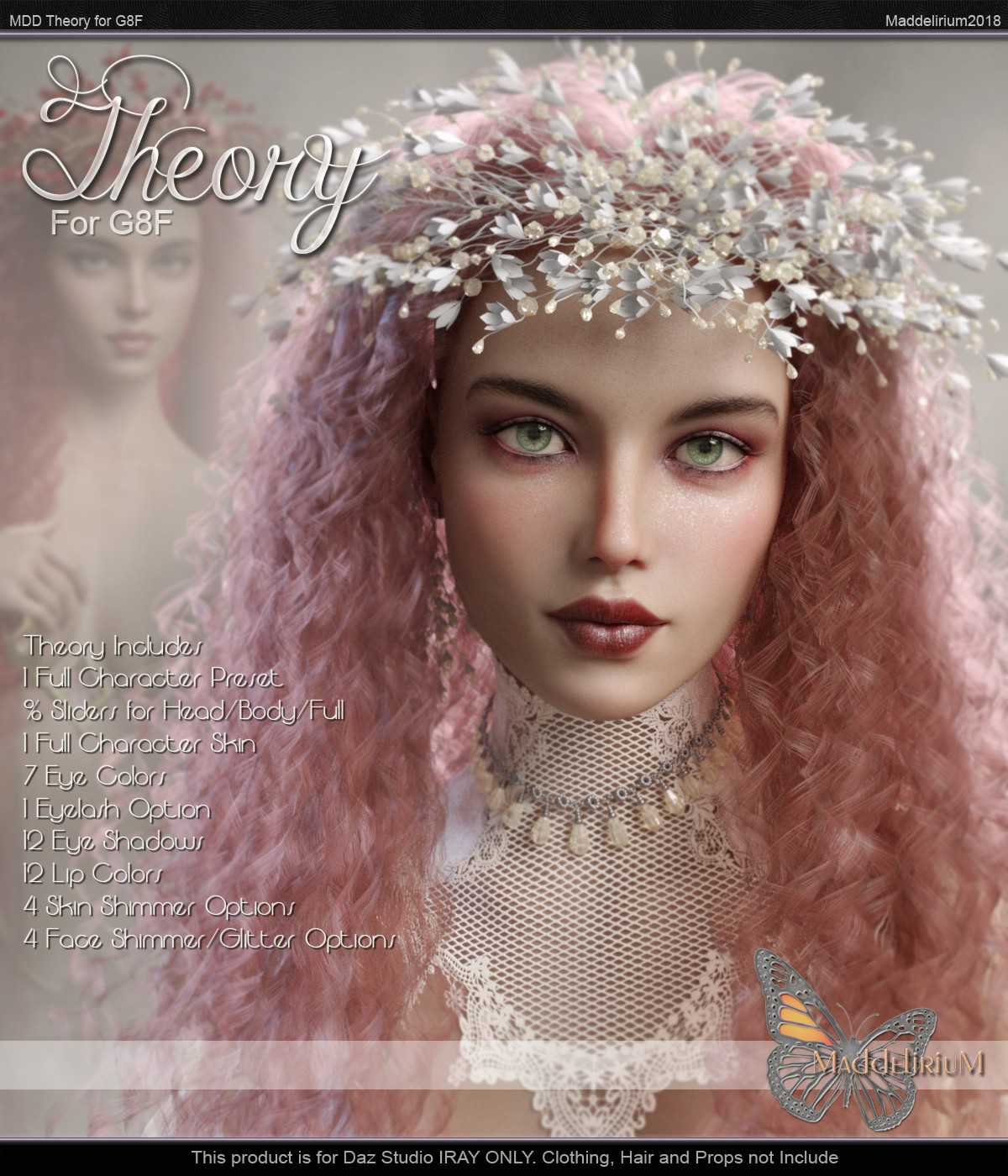 MDD Theory for G8F – Iray Only