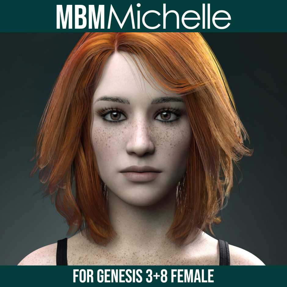 MbM Michelle for Genesis 3 and 8 Female