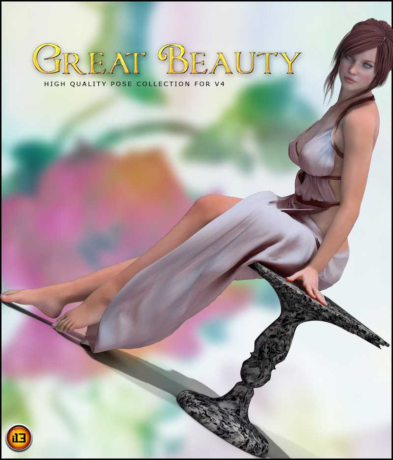 i13 Great Beauty Pose Collection and Prop