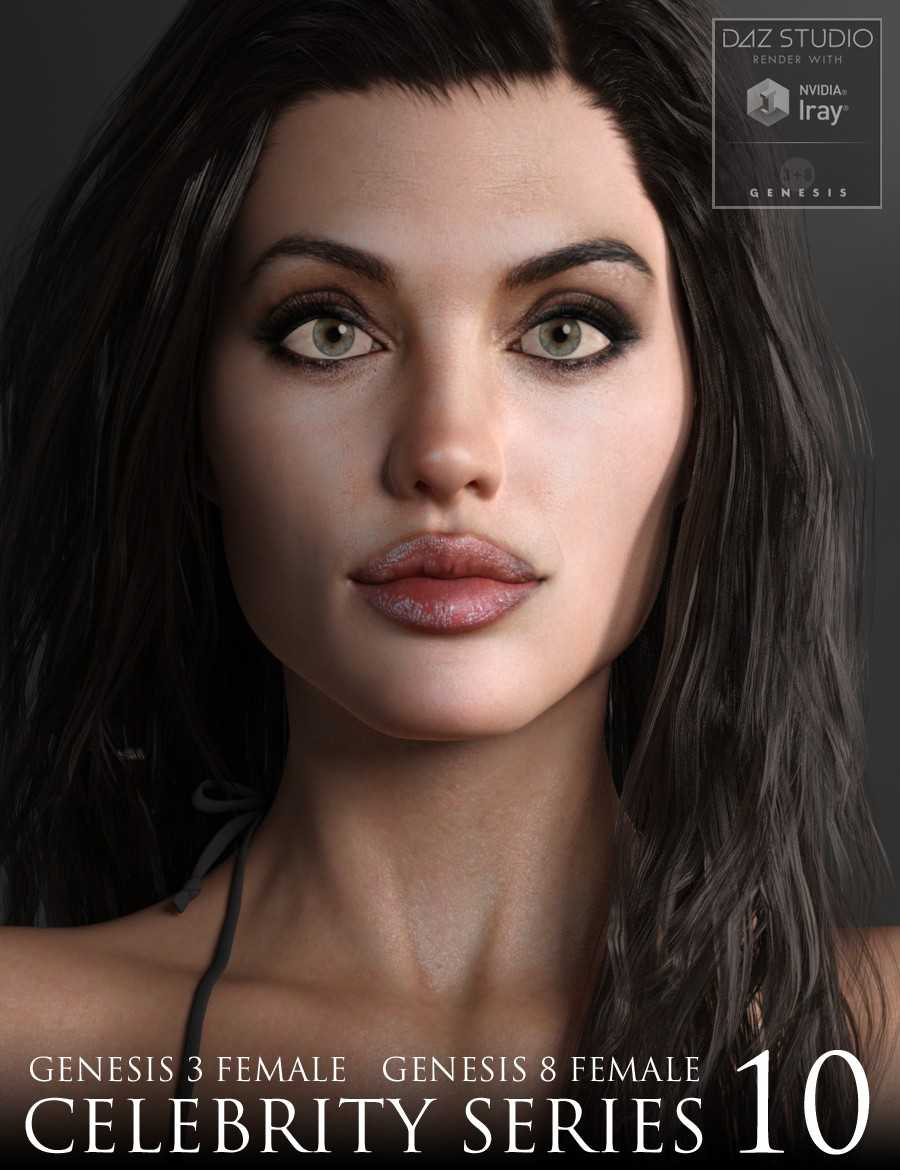 Celebrity Series 10 for Genesis 3 and Genesis 8 Female