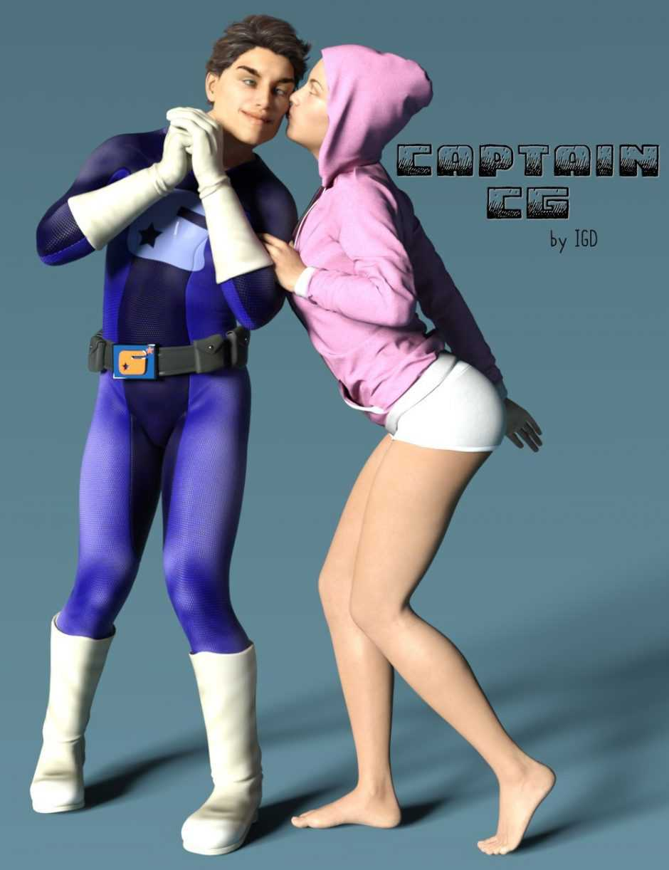 IGD Captain Charisma Poses for Genesis 3 Male