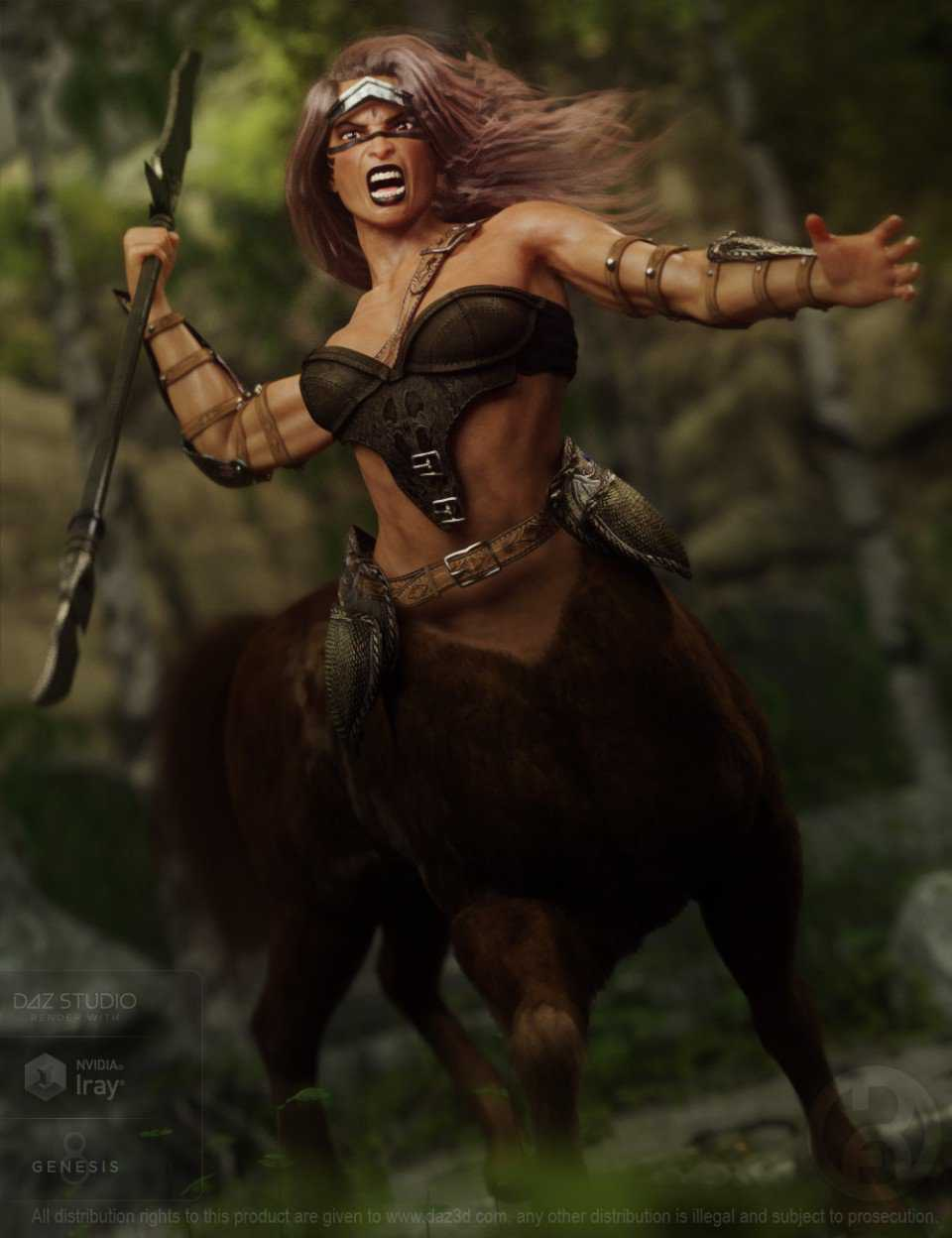 Annicellea Centaur for Genesis 8 Female Centaur
