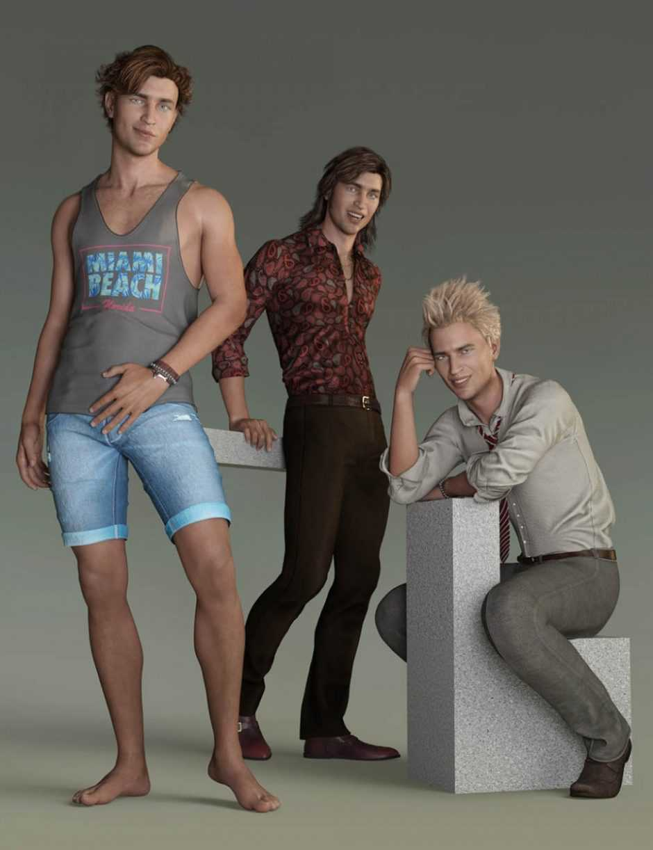 Capsces Poses and Expressions for Genesis 8 Male and Owen 8