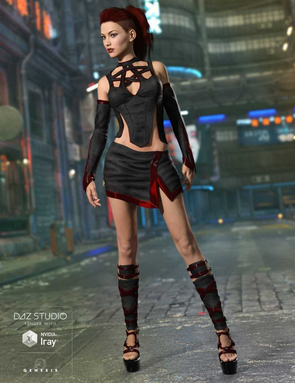 Credence Outfit for Genesis 3 Female(s)