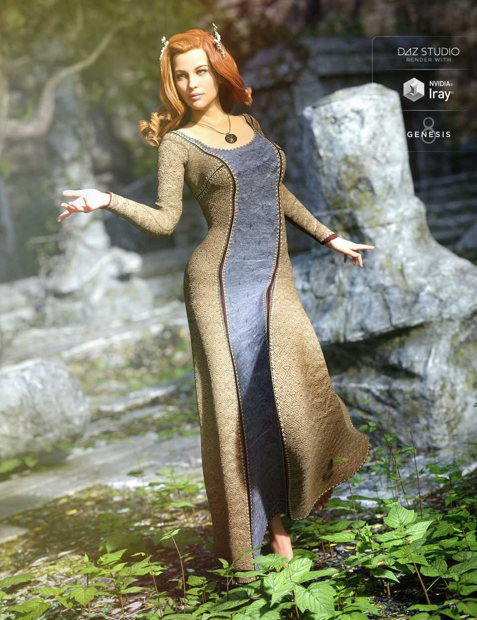 Sighni Outfit for Genesis 8 Female(s)