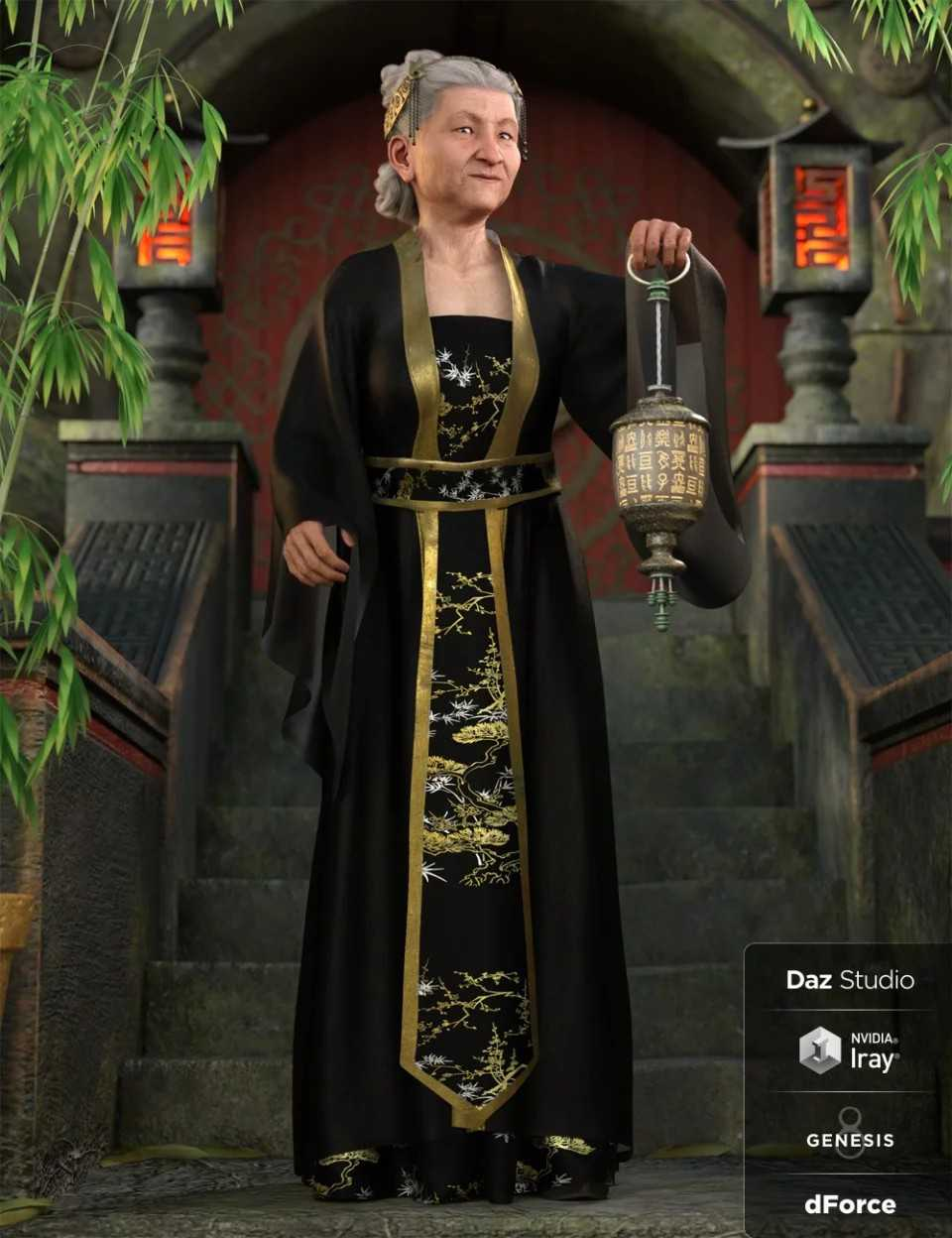 dForce Palace Robes Outfit for
