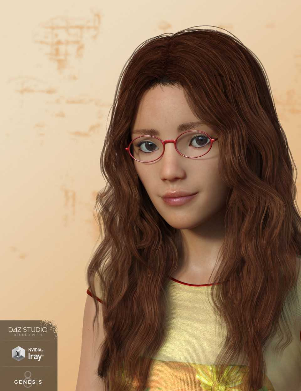 AQ Jenna for Genesis 3 and 8 Female