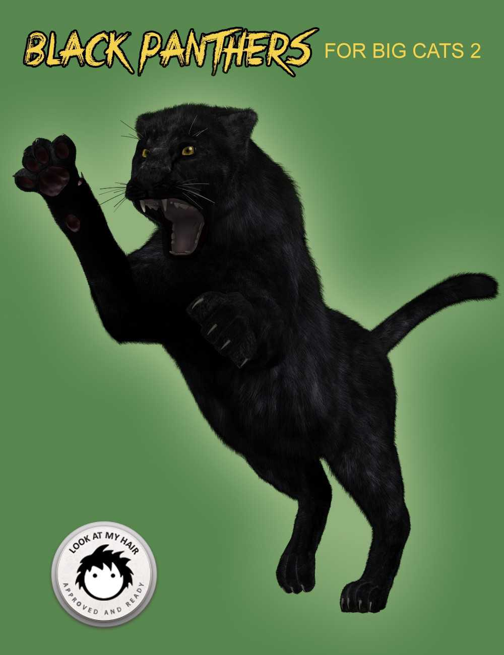 Black Panthers for DAZ Big Cat 2