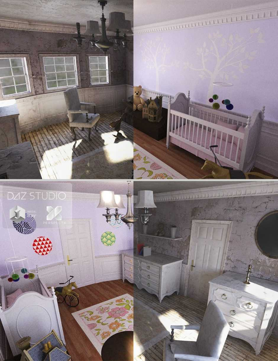 Nursery Room + Forgotten Innocence Bundled