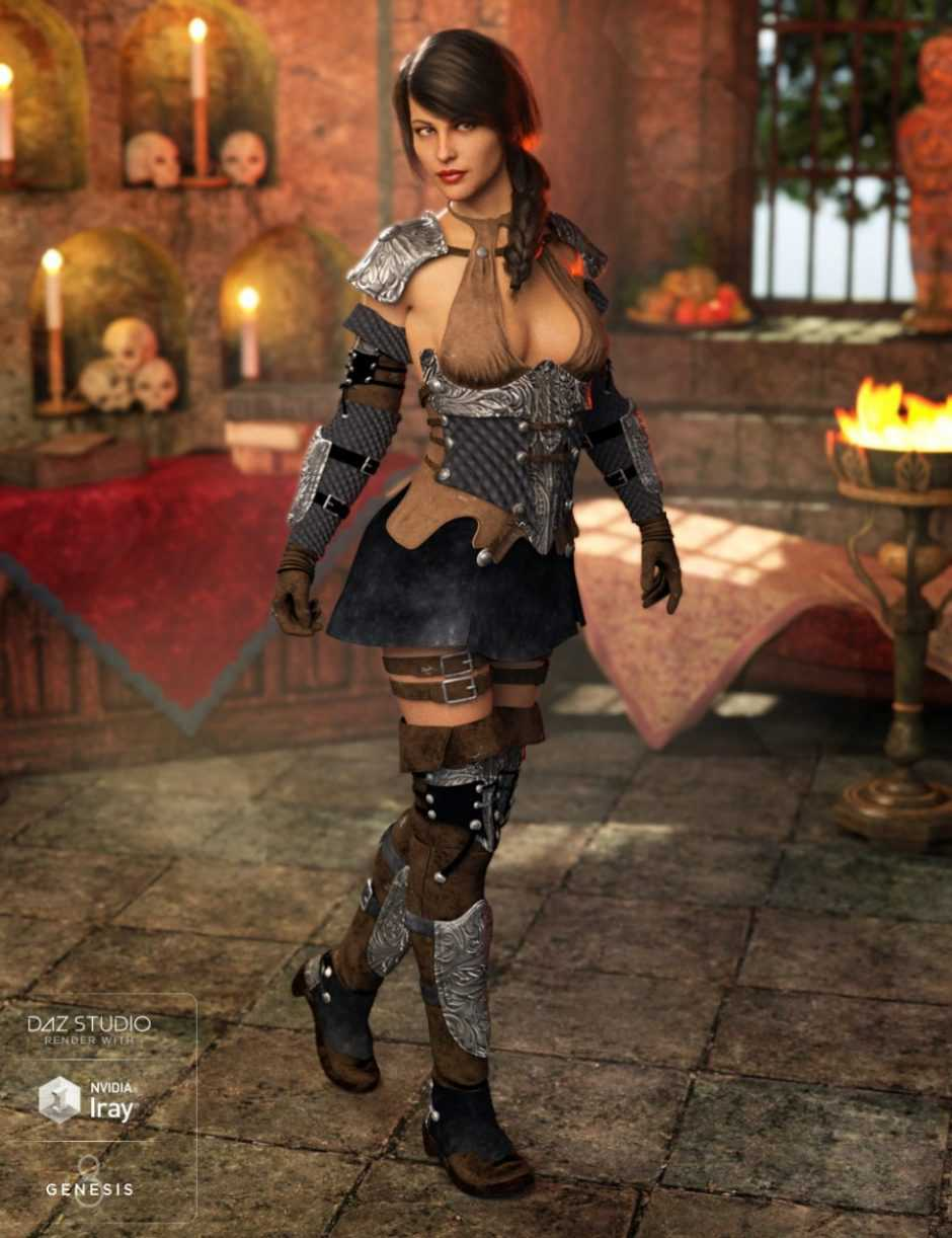 Shadow Thief Outfit for Genesis 8 Female(s)