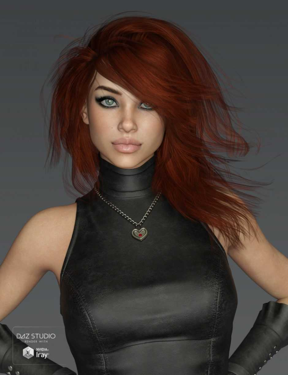 Mystical Hair for Genesis 3 and 8 Female(s)