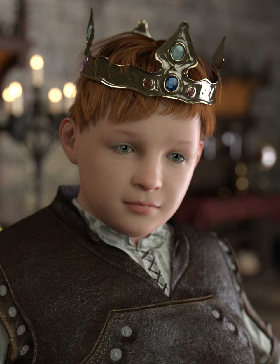 The King's Son HD for Genesis 8 Male