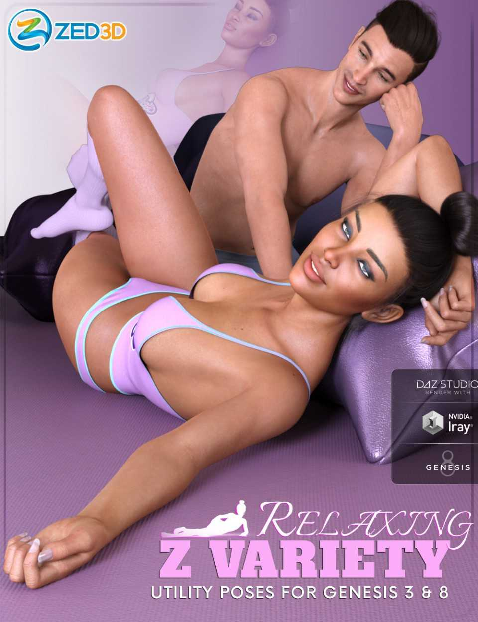 Z Variety Relaxing Collection for Genesis 3 and 8